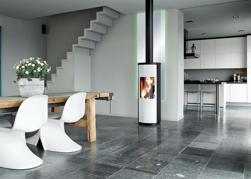 kopper flam 39 bouclier thermique en verre maill. Black Bedroom Furniture Sets. Home Design Ideas
